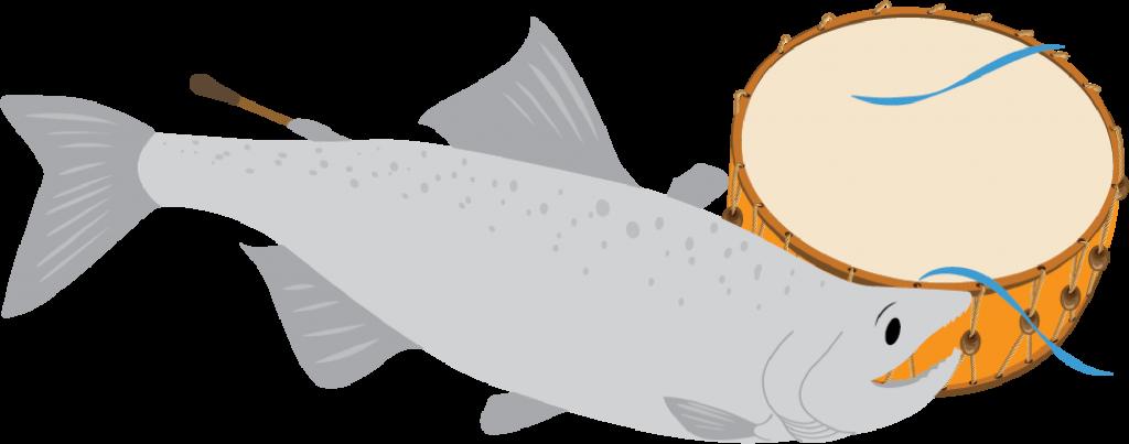 Salmon & Drum
